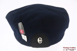 Flatcap Conte of Florence dark blue with earwarmer 57-59