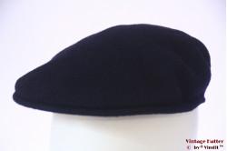 Flatcap Kangol dark blue wool felt 59