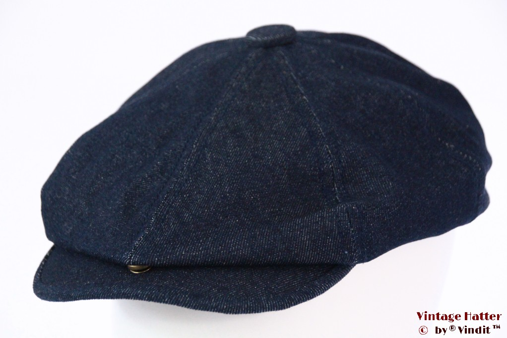 Paperboy cap Dickies Jacksonport snapcap denim jeans 58 [New Sample]