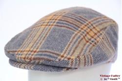 Flatcap Hawkins soft blue tweed 60-62 (XXL) [new]
