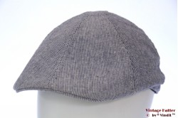 Preshaped flatcap Hawkins light blue linnen cotton 60 (XL) [new]