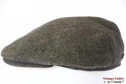 Flatcap Modus green tweed with earwarmer 57