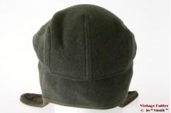 Flatcap Balke green with earwarmer 56/57