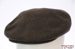 Flatcap Merkur green brown with earwarmer 56,5