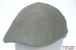 Preshaped flatcap Hawkins pastel green linnen cotton 61 (XXL) [new]