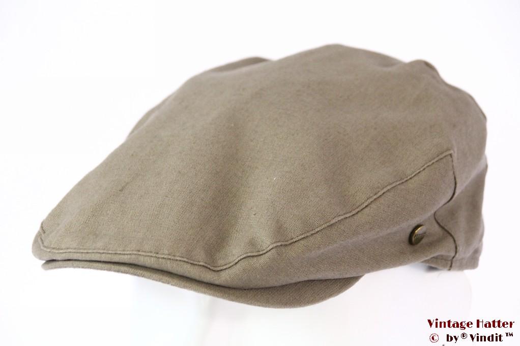 Flatcap Lakota beige grey cotton 55-56