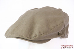 Flatcap Lakota beige grey cotton 55-56