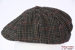 Paperboy snapcap Brixton Brood grey tweed 56-61 [New Sample]
