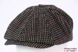 Paperboy pet Brixton Brood grijs tweed met drukknoop 56-61 [Nieuwe Sample]