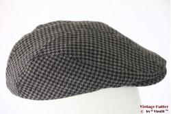 Flatcap grey dogtooth Canda 58