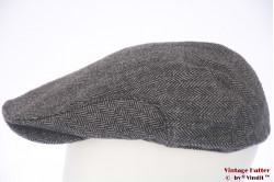 Flatcap grey herringbone 60 (XL)