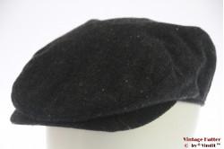 Platte pet donker grijs vissengraat 55-59