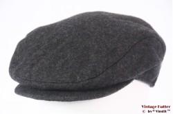 Platte pet JB grijs met oorwarmer windstopper 58