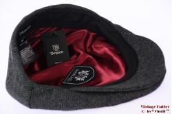 Flatcap Brixton Hooligan snapcap grey herringbone 58-59 [New Sample]