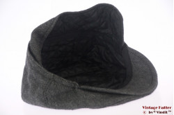 Flatcap TCM grey herringbone with earwarmer 59 (L)