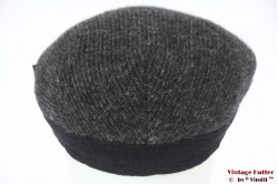Flatcap Wegener grey wool with earwarmer 59