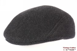 Preshaped flatcap Formen dark grey 57