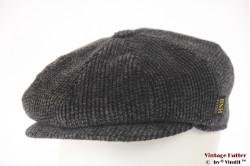 Paperboy cap BNH blackish grey corduroy 58 [as new]