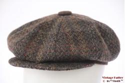 Paperboy pet grijs en bruin tweed 56,5