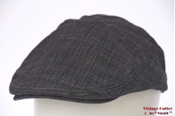 Flatcap Canda summer dark grey cotton 59-60