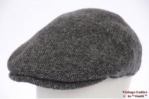 Flatcap Canda grey woven 60 (XL)