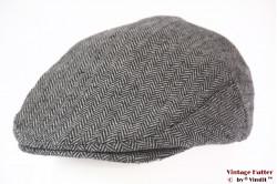 Flatcap Brixton grey herringbone 60 (XL)