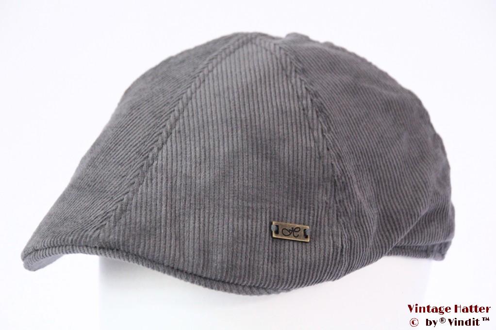 Flatcap Hawkins grey corduroy 59 [new]