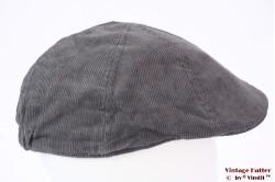 Flatcap Hawkins grey corduroy 57 [new]
