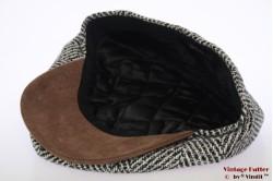 Paperboy cap Hawkins grey countrystyle tweed 60 [new]