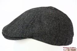 Panelcap grey herringbone 53-56
