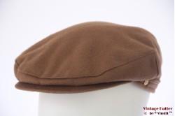 Flatcap Mayser caramel brown 59