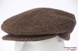 Flatcap 'La Casquette d'Elite' brown tweed 54,5 (XS)