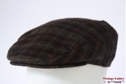 Flatcap redish brown with earwarmer 57