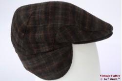 Flatcap redish brown with earwarmer 57