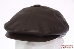 Flatcap Westbury brown leather 55