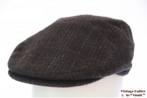 Flatcap BDP greyish dark brown 60 (XL)