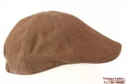 Panelcap beige brown wool 56-61