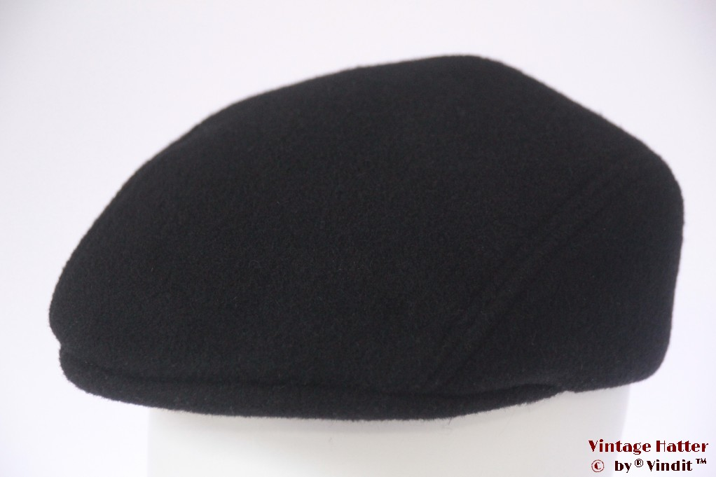 Flatcap Formen black preshaped 58