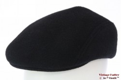 Flatcap Formen black preshaped 59