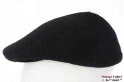 Flatcap Formen black preshaped 59