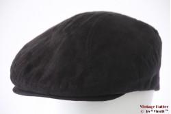 Platte pet Canda zwart imitatie suède 59