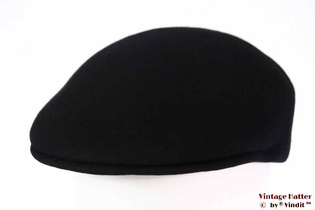 Preshaped cap black felt 59