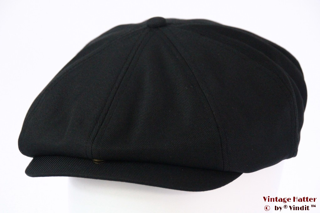 Paperboy cap Dickies Jacksonport snapcap black 57 [New Sample]