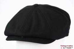 Paperboy cap Dickies Jacksonport snapcap black 57 [New Sample]