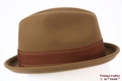 Brixton Gain fedora washed copper (beige brown) 58 (M) [New Sample]
