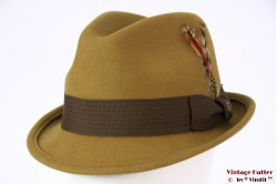 Brixton Gain fedora brass (ocker brown) 58 (M) [New Sample]