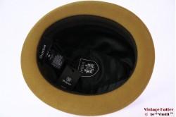 Brixton Gain fedora brass (ocker brown) 58 (M) [New Sample]