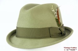 Brixton Gain fedora khaki (soft green) 58 (M) [New Sample]