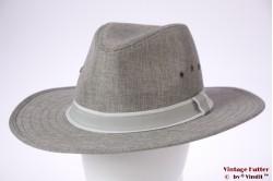 Panama-stijl gleufhoed Hawkins grijs 61 (XXL) [nieuw]