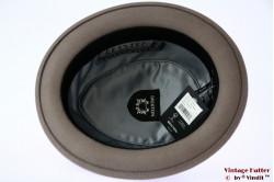 Brixton Stout Porkpie grey felt 58 (M) [New Sample]